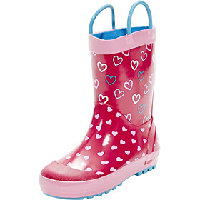 Kamik Cherish Rubber Boots Youths Rose